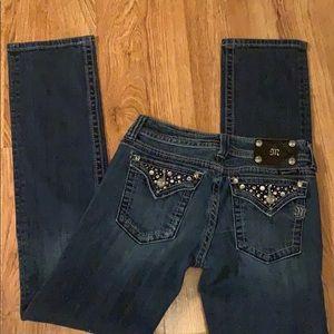 Miss Me Straight Leg Jeans women's size 29